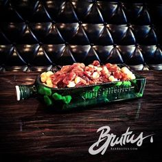 It will serve meals like this Jägermeister Poutine. | An All-Bacon Restaurant Is Opening In Montreal