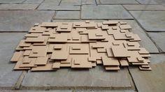 Card board wall art 3D