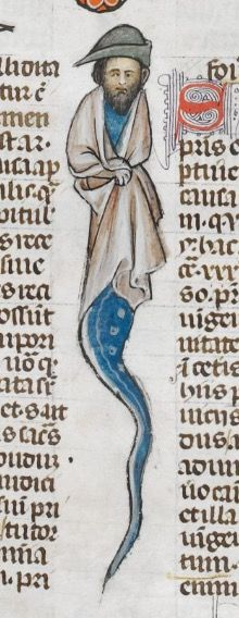 123r. The Smithfield Decretals (British Library Royal 10 E IV), c. 1300-1340. Southern France.