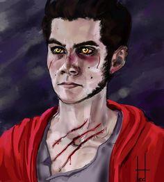 Werewolf Stiles (Teen Wolf) by on DeviantArt Teen Wolf Art, Teen Art, Teen Wolf Stiles, Dylan O'brien, Stiles Werewolf, Malia Hale, Twilight Edward, Disney Couples, Sterek