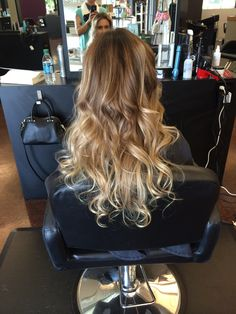 Balayage, color melt, ombre by Mandy Hayes.  www.onesalonlife.com