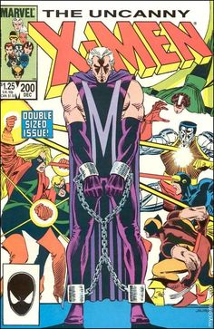 Uncanny X-Men #200  Cover art by John Romita Jr. and Dan Green