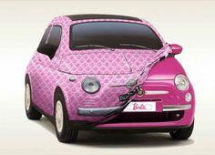 design-dautore.com  Fiat 500 Pink Special edition Barbie