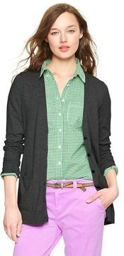 Gap Luxlight V-neck pocket cardigan