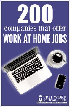 Looking for a trustworthy work at home job? Here's a MASSIVE list of 200 companies that offer work from home jobs for stay at home moms, teens, and freelancers.