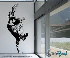 Vinyl Wall Decal Sticker Break Dancer 2 AC165s by Stickerbrand, $39.95