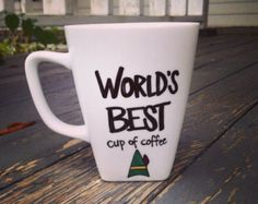 Coffee Cup Obsession by Aella on Etsy