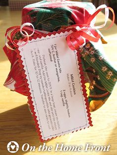 GIFTS in a JAR Cookie Mix
