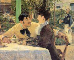 Edouard Manet - Chez Le Pere Lathuile