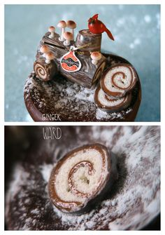 Miniature Buche de Noel by ~MrsCreosote on deviantART