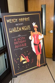 Hey, I found this really awesome Etsy listing at https://www.etsy.com/listing/265540085/harlem-nights-welcome-sign-24-x-36-or-20