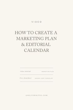 Marketing and PR How to Build and Editorial Calendar - 5 Steps to Plan Your Editorial Calendar Content Marketing Strategy, Marketing Plan, Business Marketing, Online Marketing, Social Media Marketing, Digital Marketing, Mobile Marketing, Inbound Marketing, Social Networks
