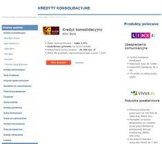 KREDYT KONSOLIDACYJNY ALIOR BANK https://kubuszek.produktyfinansowe.pl/aliorbank/kredyt-konsolidacyjny.html