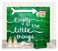 enjoy all that you have! by hilorine on Polyvore featuring polyvore Christian Louboutin Furla fashion style clothing