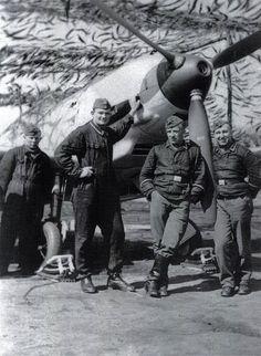 Messerschmitt Bf 109E-4 I./JG51 ground crew France 1940