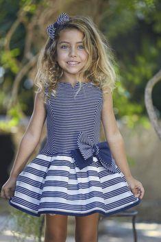Baby Girl Dress Patterns, Baby Dress, Little Dresses, Girls Dresses, Sailor Dress, Frocks For Girls, Couture, Fashion Kids, Ball Dresses