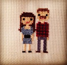 Custom Cross Stitch   People by 3DRD on Etsy - Third Daughter, Restless Daughter #subversive #cross #stitch #thirddaughterrestlessdaughter