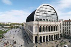 Лионский оперный театр - реконструкция