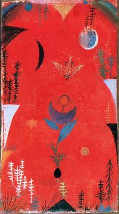 パウル・クレー:花の神話(1918年)