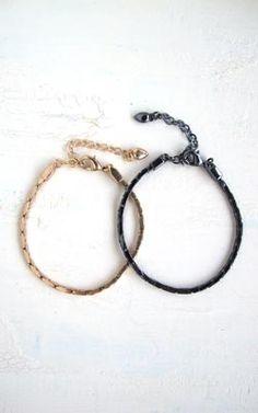 PILGRIM(ピルグリム) 'Classic' chain bracelet
