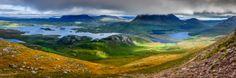 Rolling Scottish Highlands.