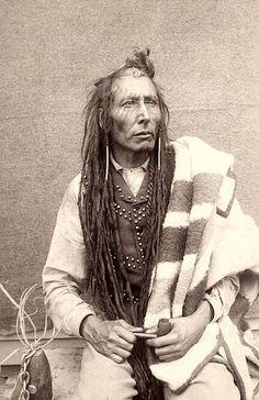 Chief Poundmaker - Pîhtokahanapiwiyin, also known as The Drummer. Cree. Photo…