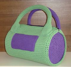For your jim Crochet Coin Purse, Crochet Tote, Crochet Handbags, Crochet Purses, Crochet Gifts, Diy Crochet, Purple Handbags, Sack Bag, Handmade Handbags