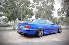 Very particular Thai styled BMW e36 coupé