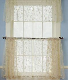 Home Quinn Leaf Grommet Top Curtain Panel Home Gray