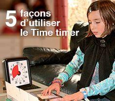 L'utilisation du Time Timer dans 5 situations de la vie de tous les jours