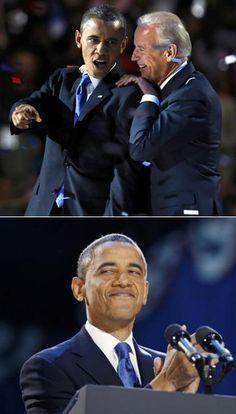President Barak Obama & Vice President Joe Biden...