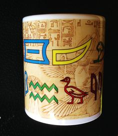 Your Name in Egyptian Hieroglyphics Personalised  by Hx5Designs, £6.99