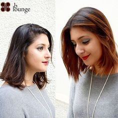 Before and after shots of Timony's restyle. Simple caramel made a world of difference, beautifully complementing her eyes and skin tone. Our hair stylists always want to recommend the right hair color and style for you. /// Before and after shots Color Tag, Salons, Hair Color, Hair Models, Hair Stylists, Long Hair Styles, Skin Tone, Eyes, Simple