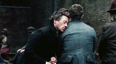 Favorite scene: Holmes and Watson