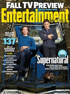 'Supernatural': 4 Exclusive Photos | 'Supernatural' on the Cover of EW | EW.com