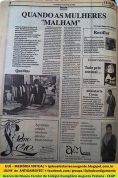 IJUÍ - RS - Memória Virtual: A indústria e comércio da malha em Ijuí - a mulher...