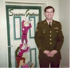 duck dynasty picture quotes | Duck Dynasty's Si Robertson without a beard and in his military ...