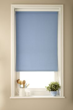 Luna Blue Roller Blind
