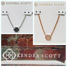 This necklace isn't a Want it's a Need!!! Kendra Scott Mabel Necklace- $60  #madisonsbluebrick #kendrascott #neckcandy #necklaces #gifting #shoplocal #downtownhotsprings
