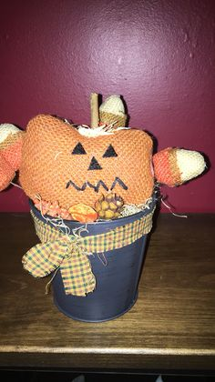 Pumpkin bucket https://m.facebook.com/pages/The-Cozy-Country-Craft-House/575638289196544