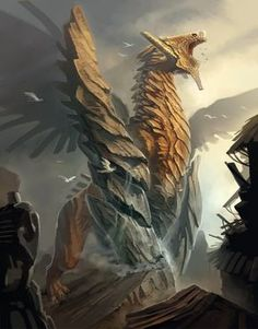 Earthquake Dragon - the art of Eric Belisle