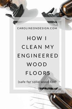 Diy Wood Floor Cleaner One Good Thing Diy Wood Floor