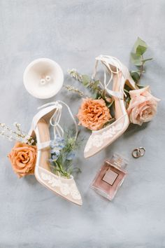 Warm, Whimsical Florals Throughout an Abandoned Manor Perfectly Compliment This Bride's Natural Beauty Wedding flat lay with warm and whimsical floral details, pink and peach shades for your elegant bridal style. Wedding Flats, Diy Wedding, Wedding Venues, Dream Wedding, Paris Wedding, Wedding Ideas, Once Wed, Flatlay Styling, Blush And Gold