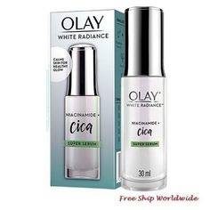 Olay White Radiance Niacinamide Cica Super Serum 30ml. Even Skin Tone, Olay, How To Know, Vodka Bottle, Serum