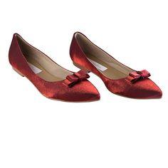 3c34d9969 Sapatilhas, Vermelho, Cetim, Sapatos, Noivas, Noiva, Flores, Senhoras,  Flowers