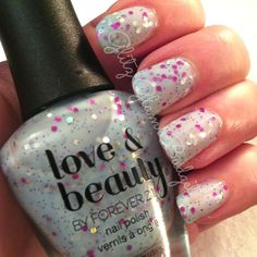 Forever 21 Love & Beauty BabyFace Nail Polish via @GlitzGlam Budget