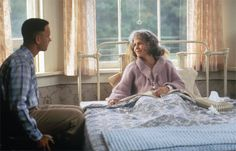 """""""Don't you be afraid, sweetheart. Death is just a part of life, something we're all destined to do."""" -Forest Gump"""