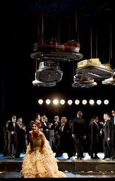 Hamburg Staatsoper's new 'La Traviata', directed by Johannes Erath