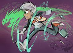 Pictures of danny phantom fan art - Danny Phantom, Sharpie91, Randy Cunningham, Ghost Boy, Old Cartoons, Classic Cartoons, Animated Cartoons, Owl City, Fan Art