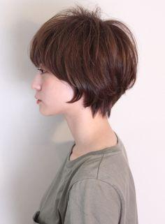 ふんわりキュートなマッシュショート(髪型ショートヘア)